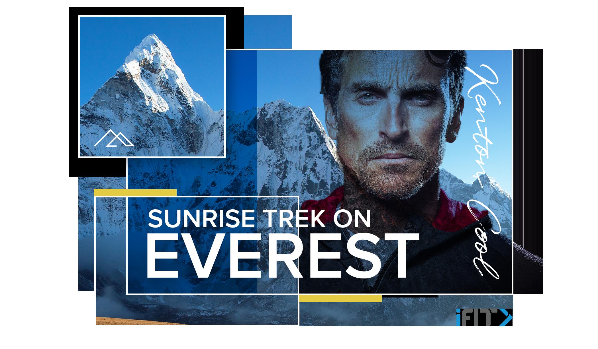 iFit Sunrise Trek on Everest walking workout