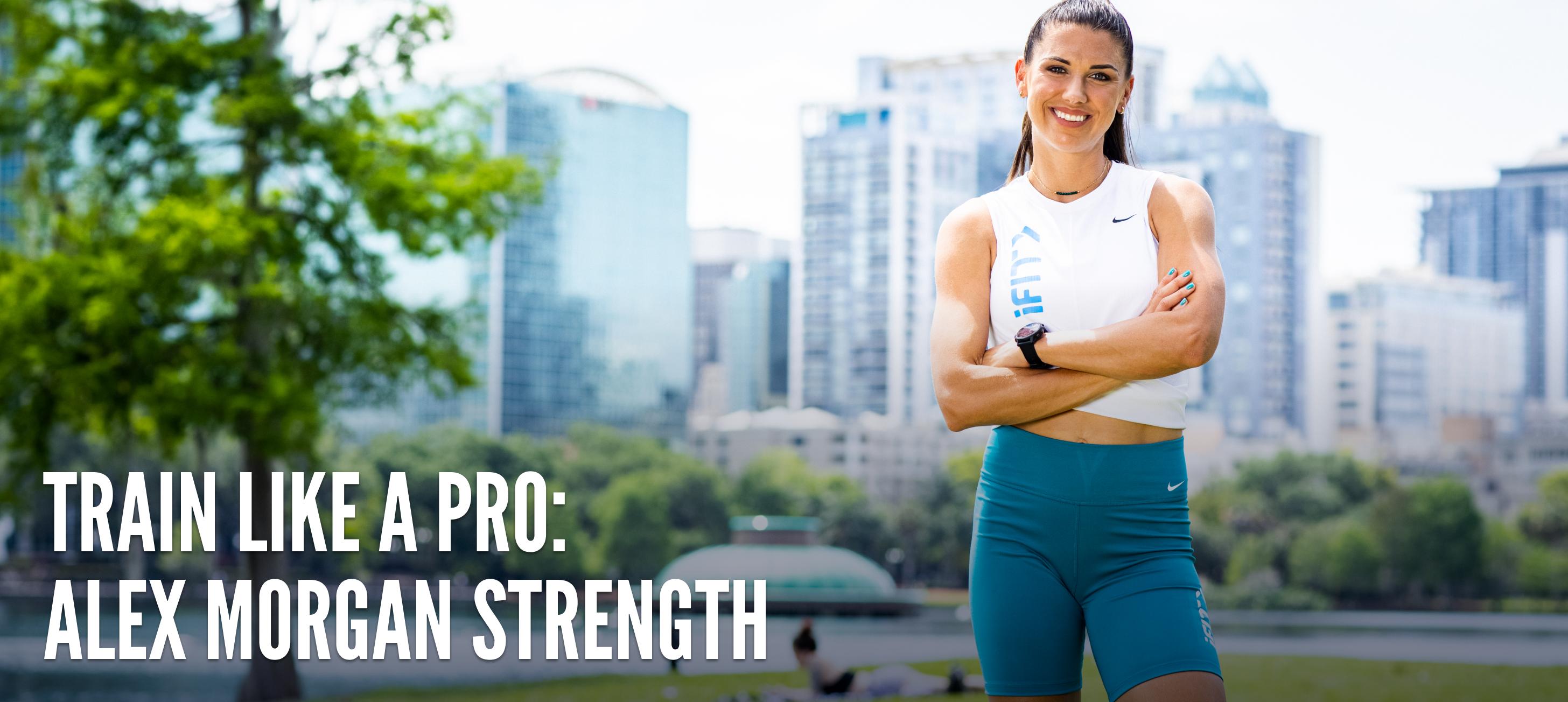 iFit Train Like a Pro: Alex Morgan strength workouts