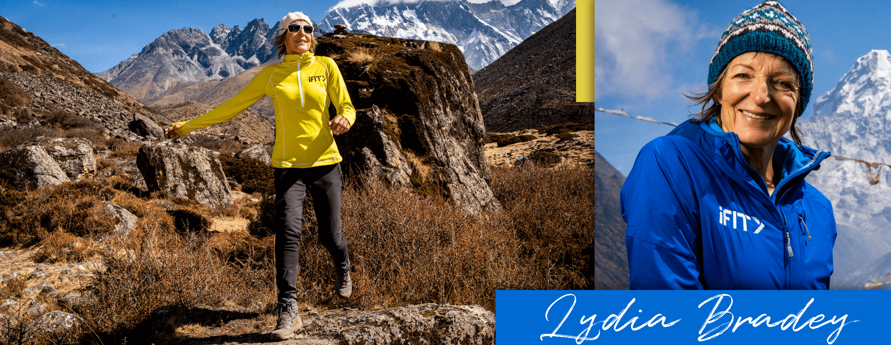 iFit Guide Lydia Bradey Everest: A Trek To Base Camp workouts