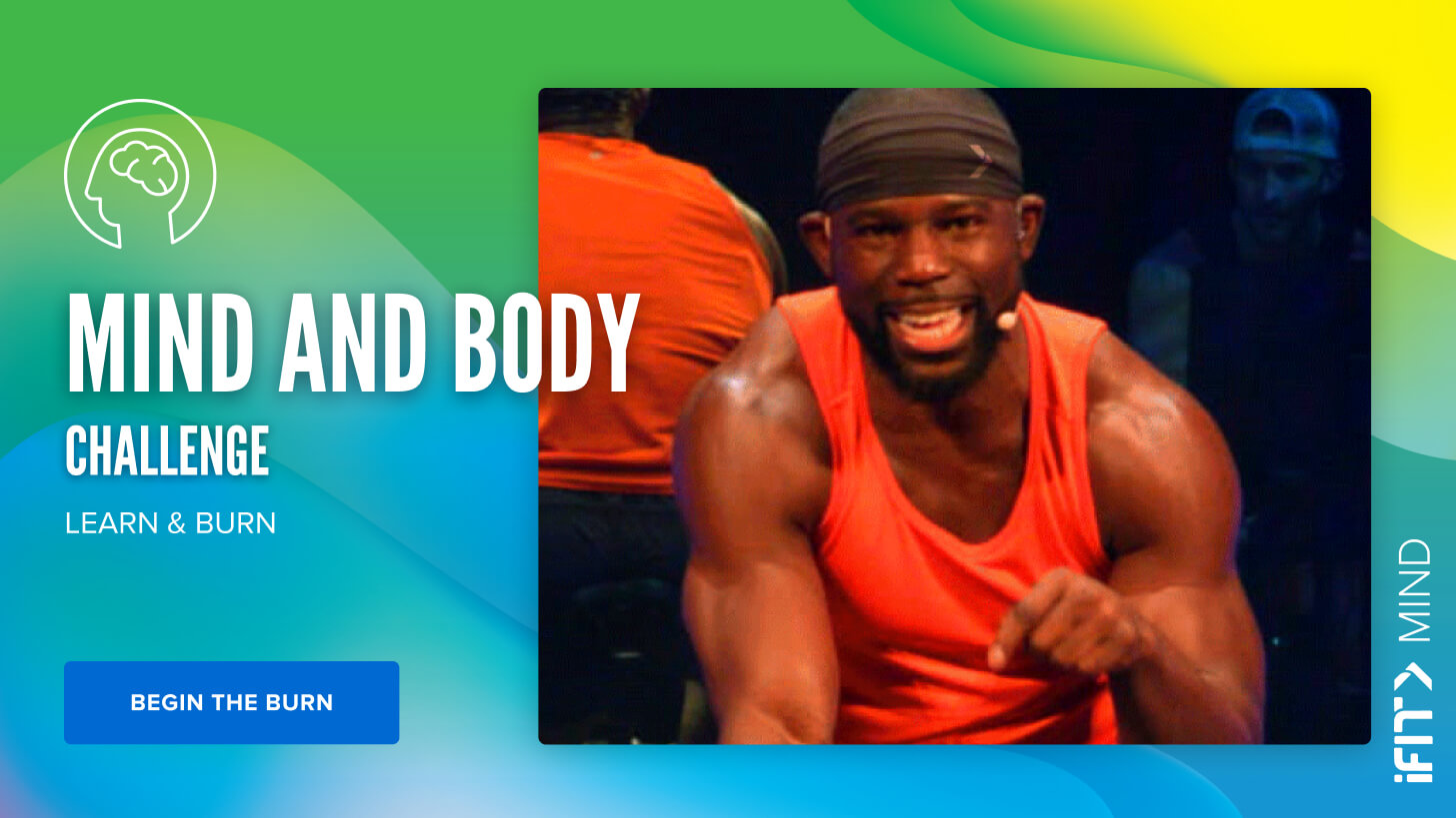 iFit May Challenge: Mind & Body cycling workouts