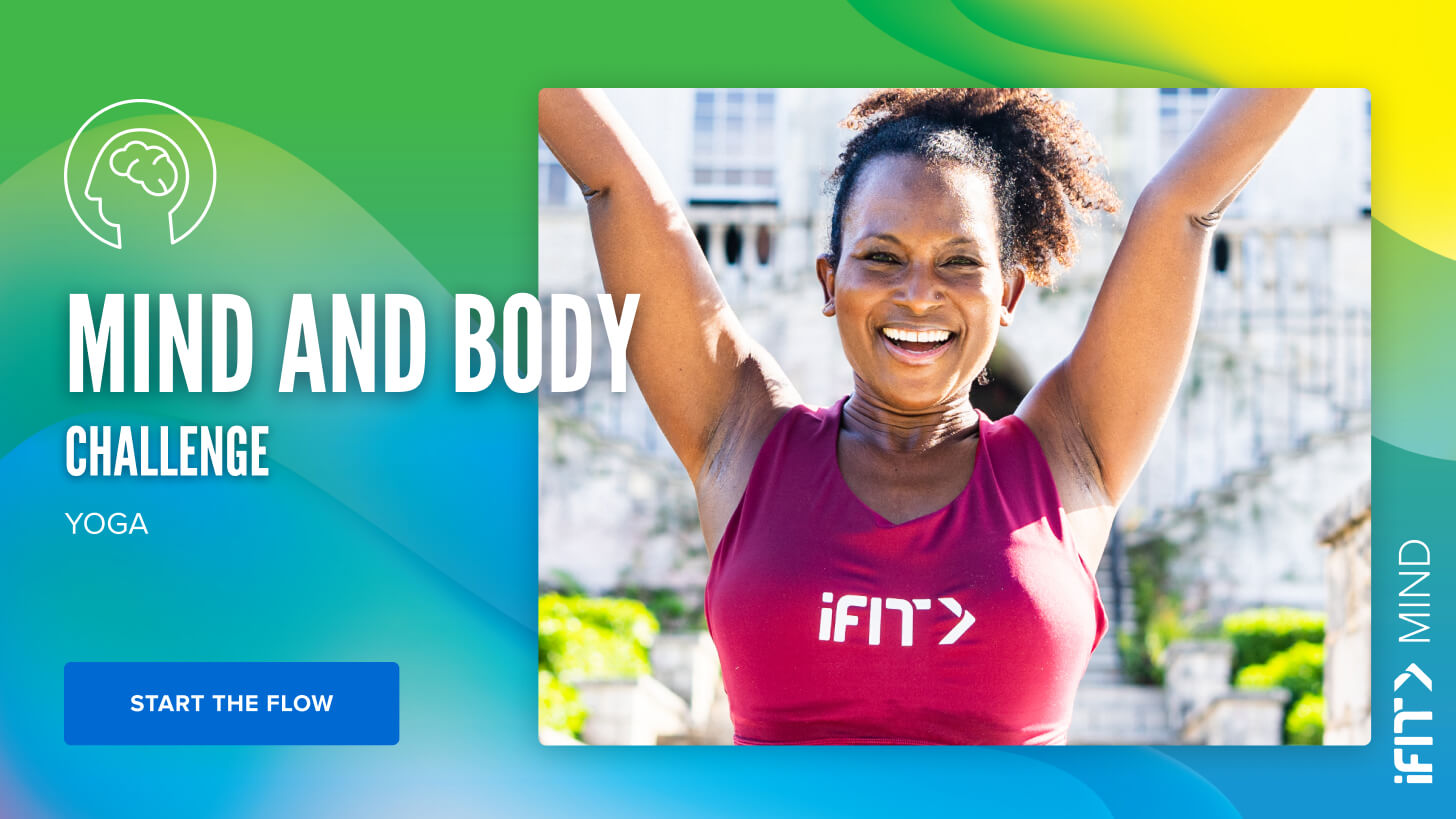 iFit May Challenge: Mind & Body yoga workouts