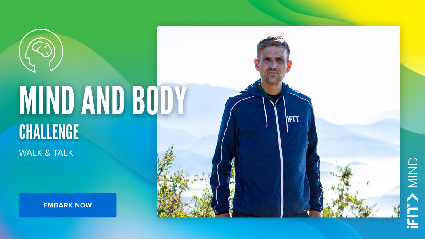 iFit May Challenge: Mind & Body treadmill workouts