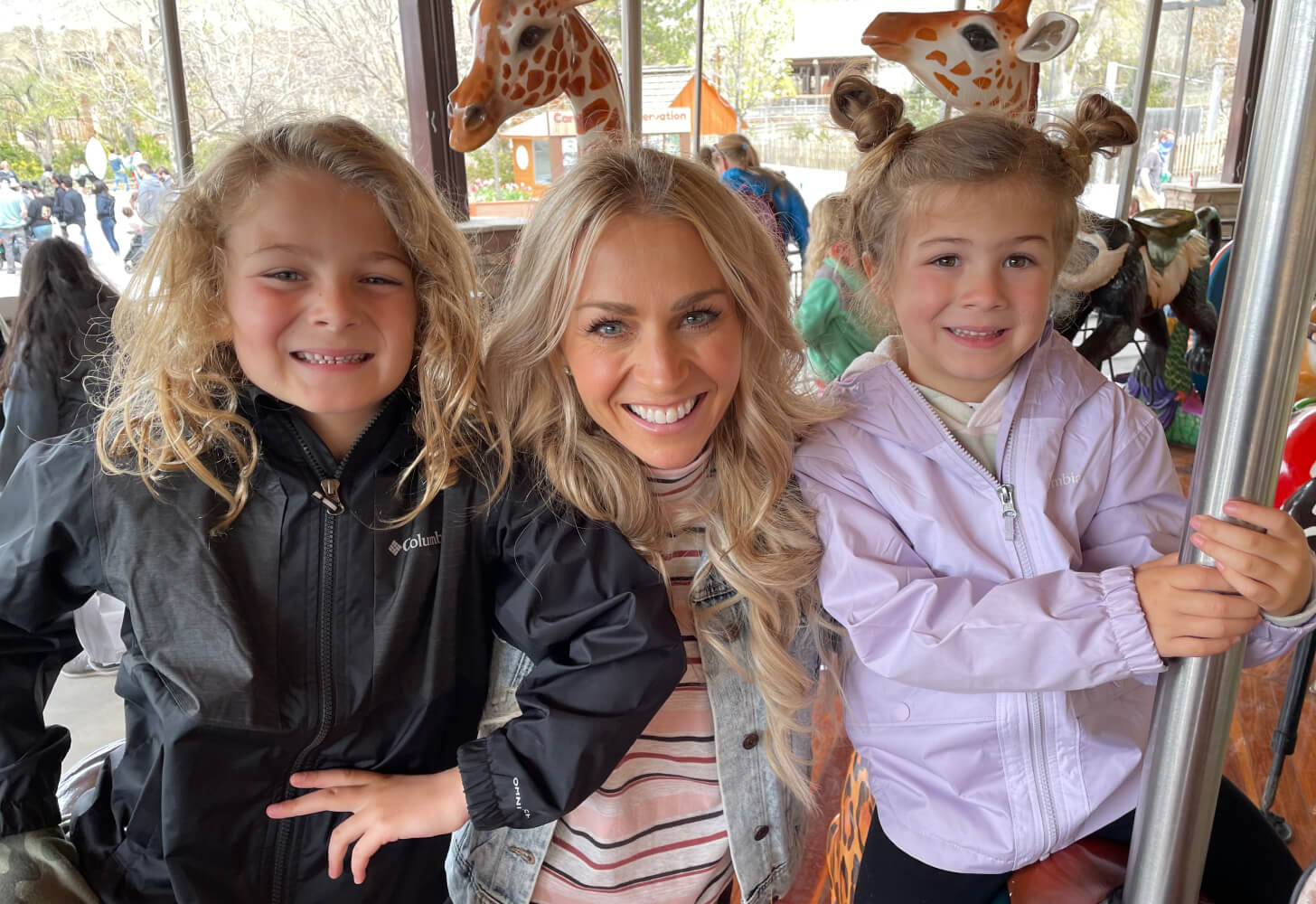 iFIT Trainer Elyse Miller and her kids