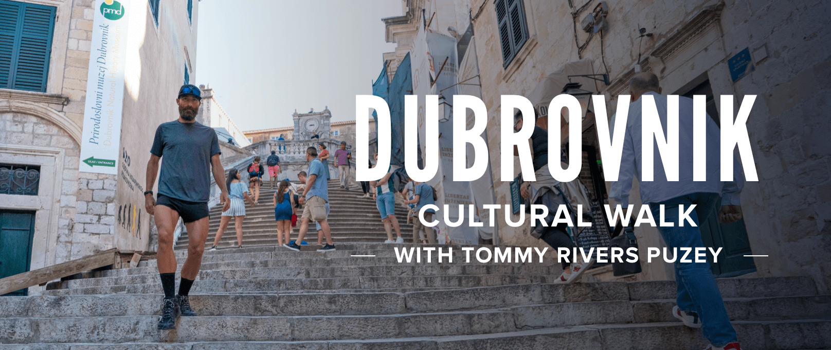 iFit-Dubrovnik Cultural Walk, Croatia with Tommy Rivers Puzey walking workout