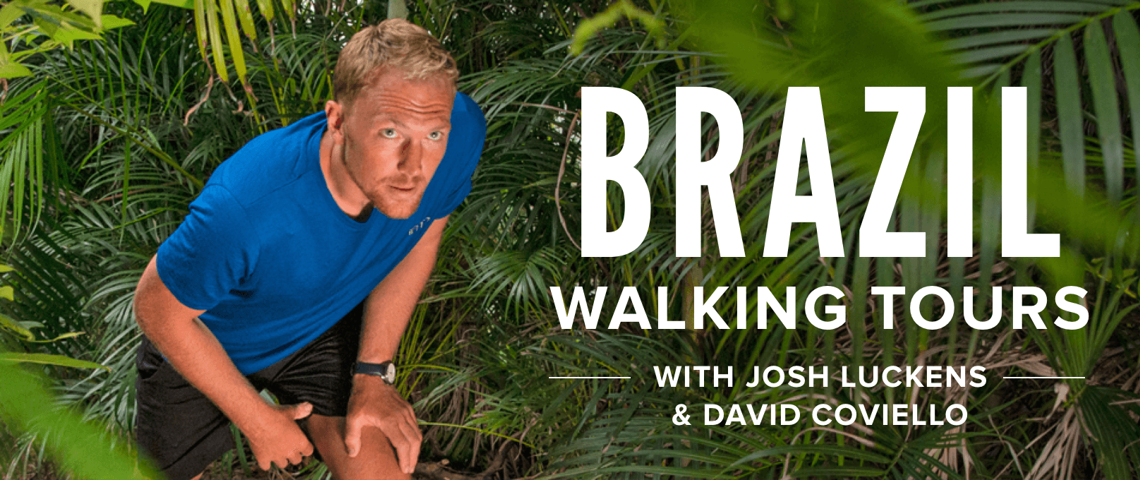 iFit Brazil Walking Tours with Alex Gregory walking workouts