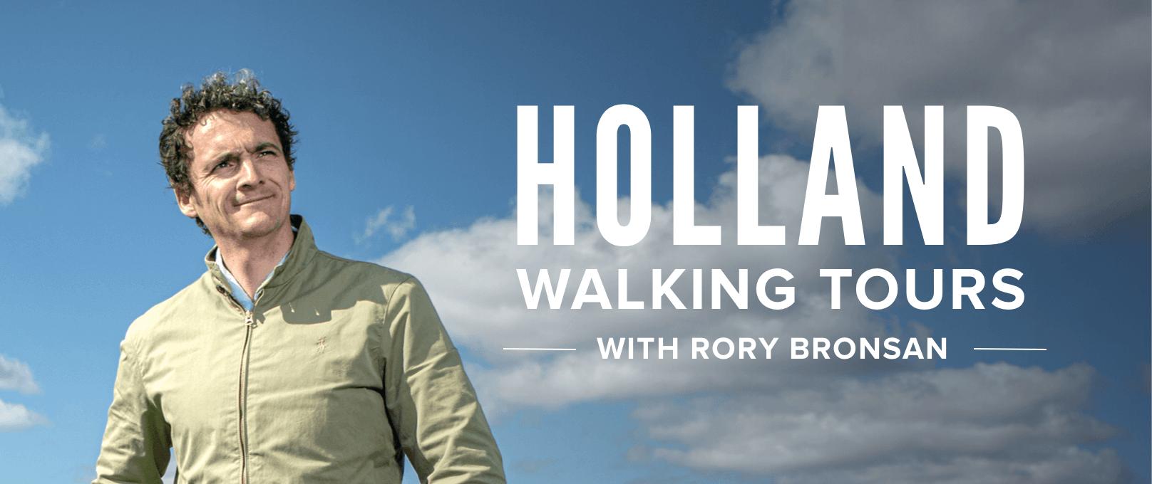 iFit Holland Walking Tours Series walking workouts