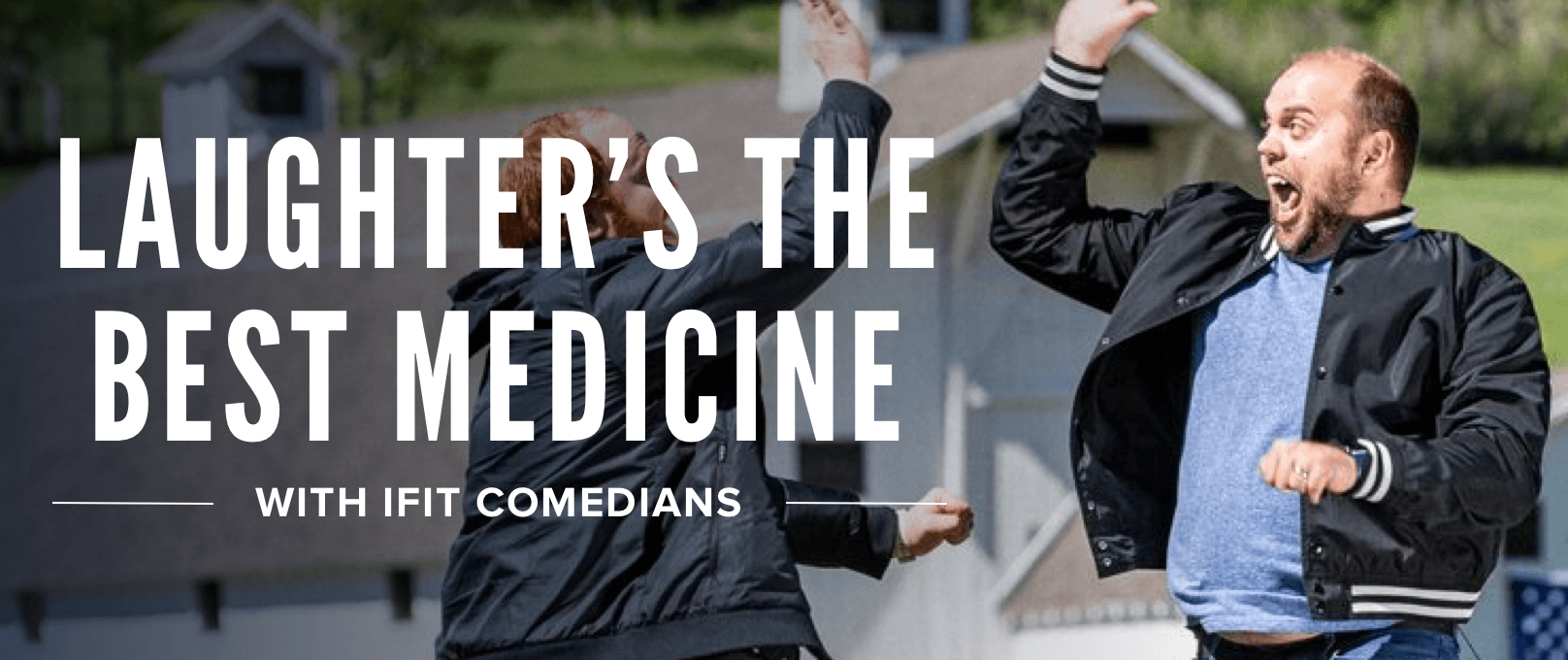 iFit Laughter's The Best Medicine Series walking workouts