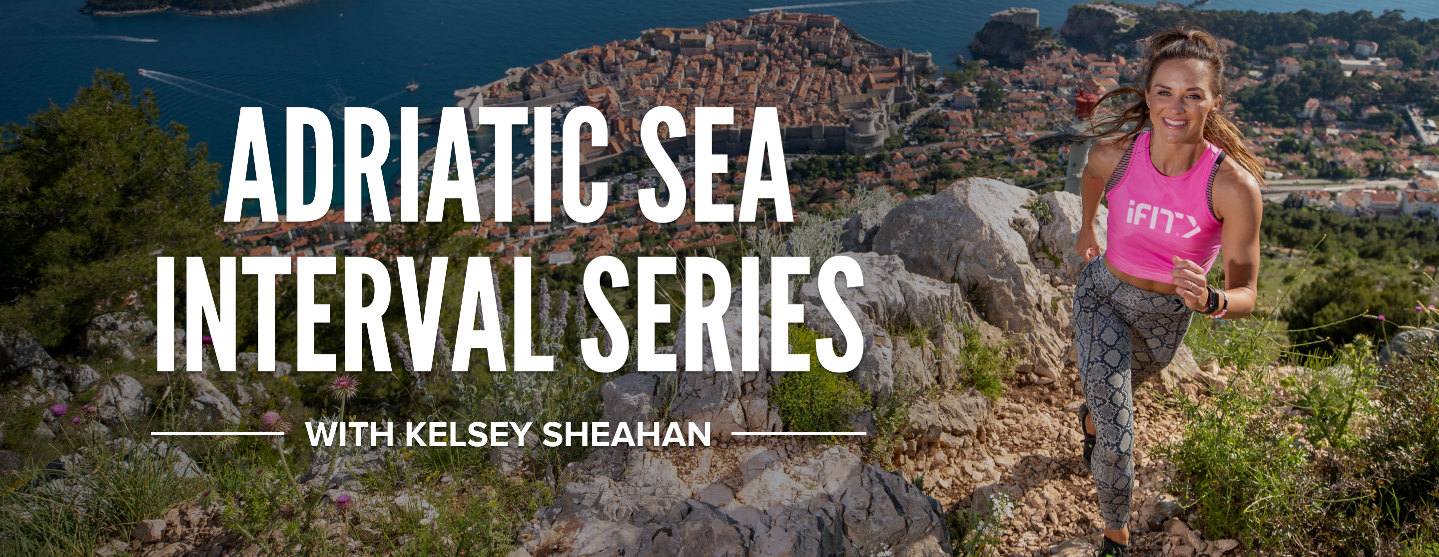 Adriatic Sea Interval Series with iFit Trainer Kelsey Sheahan