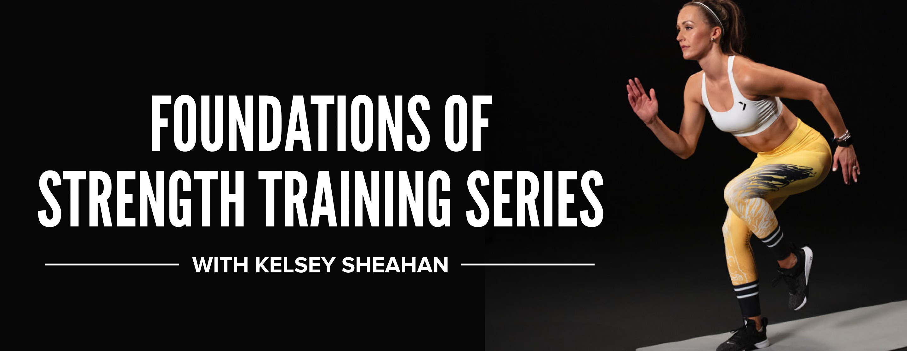 Foundations of Strength Training Series with iFit Trainer Kelsey Sheahan