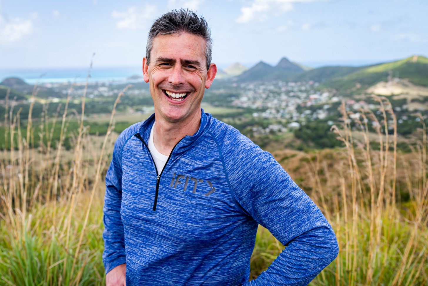iFIT Guide Dr. Jarrod Spencer coaches a mindfulness exercise