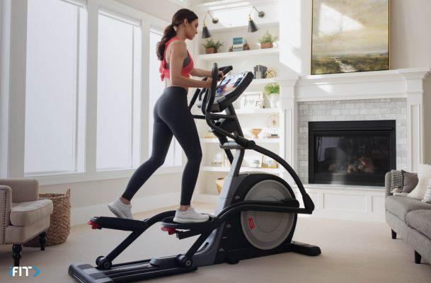 iFIT elliptical exercises