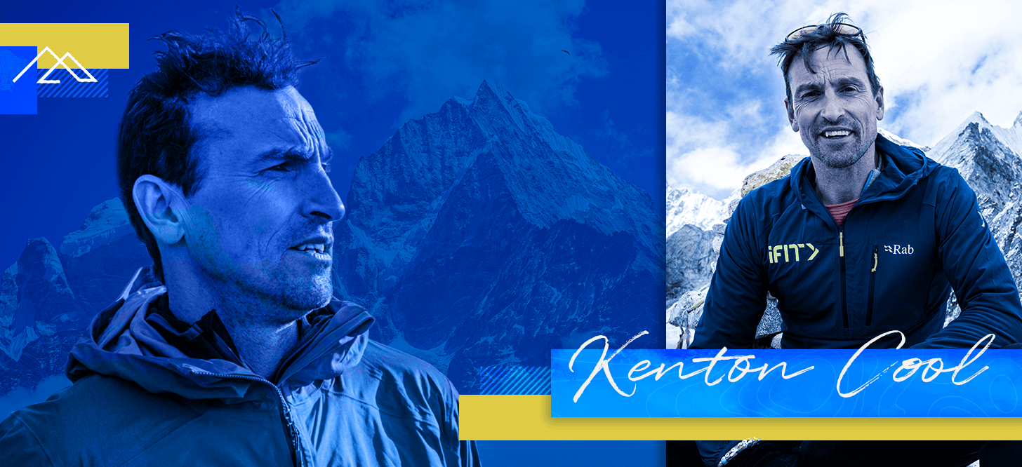 Kenton Cool coaches one of the walking workouts in the iFIT Everest: A Trek to Base Camp Series