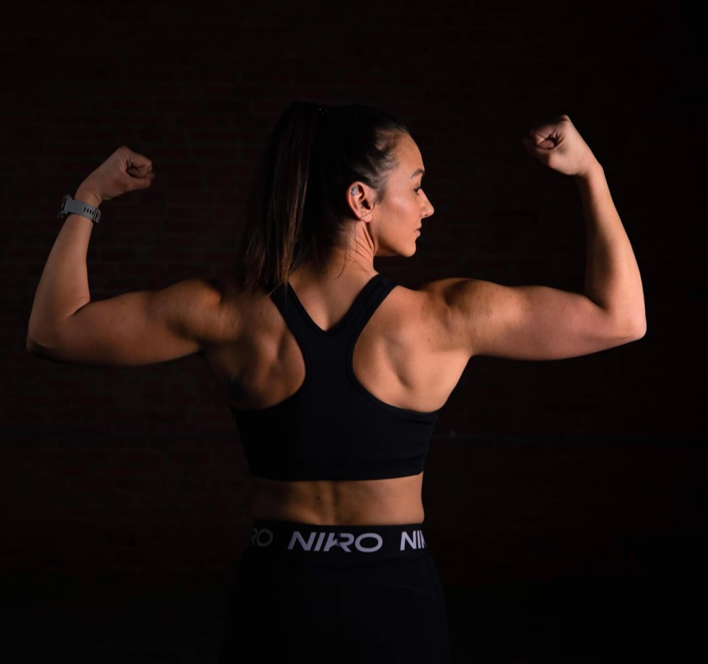 iFIT Member Breanna Maurer enjoys strength training workouts