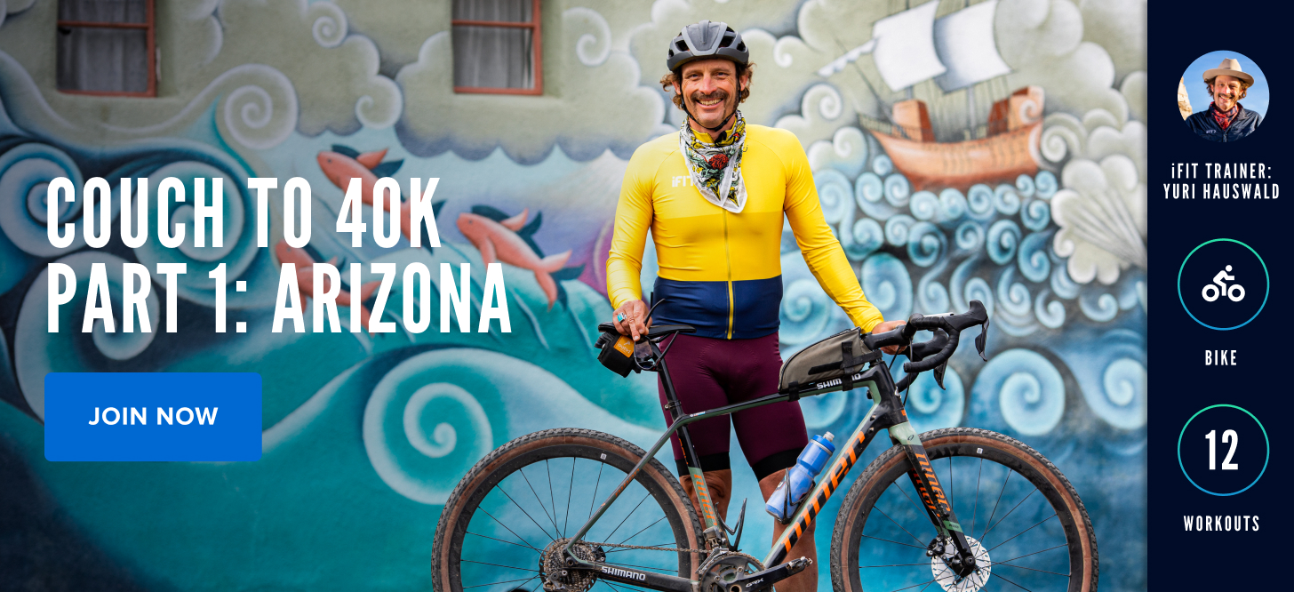 Couch to 40K Part 1: Arizona with iFIT Trainer Yuri Hauswald