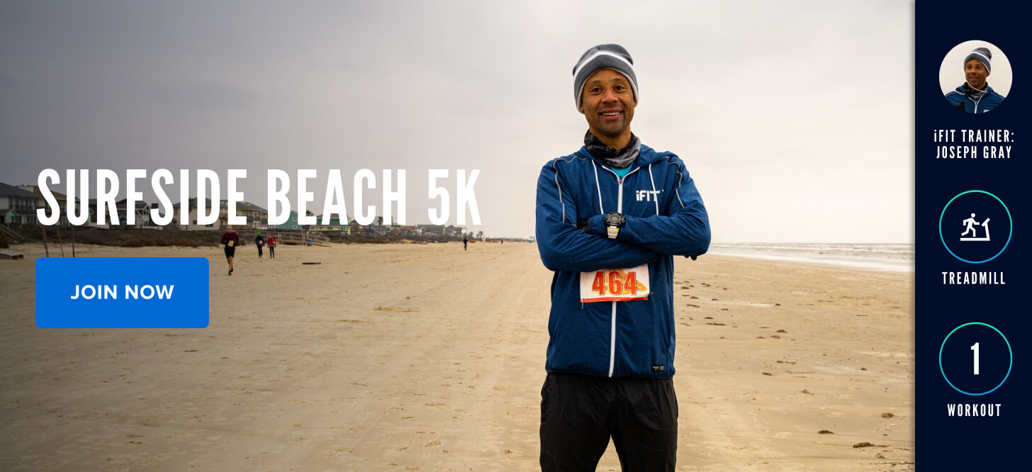 Surfside Beach 5K with iFIT Trainer Joseph Gray
