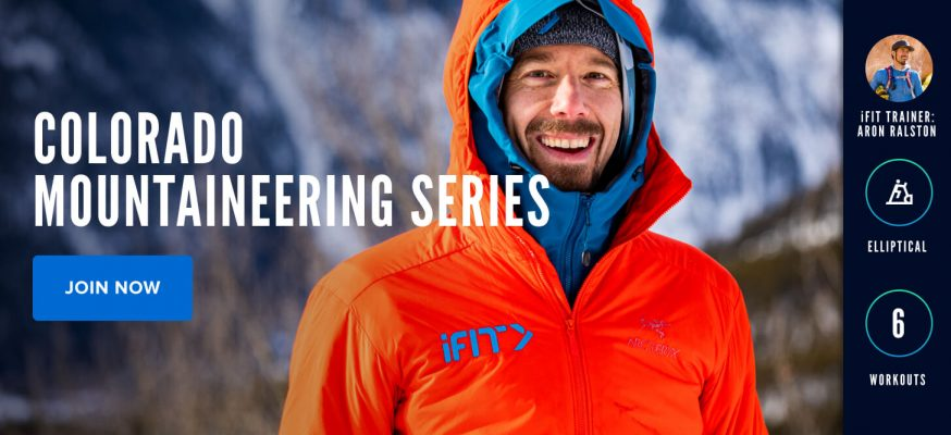 Colorado Mountaineering Series with iFIT Trainer Aron Ralston