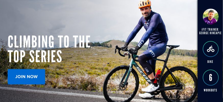 Climbing to the Top with iFIT Trainer George Hincapie