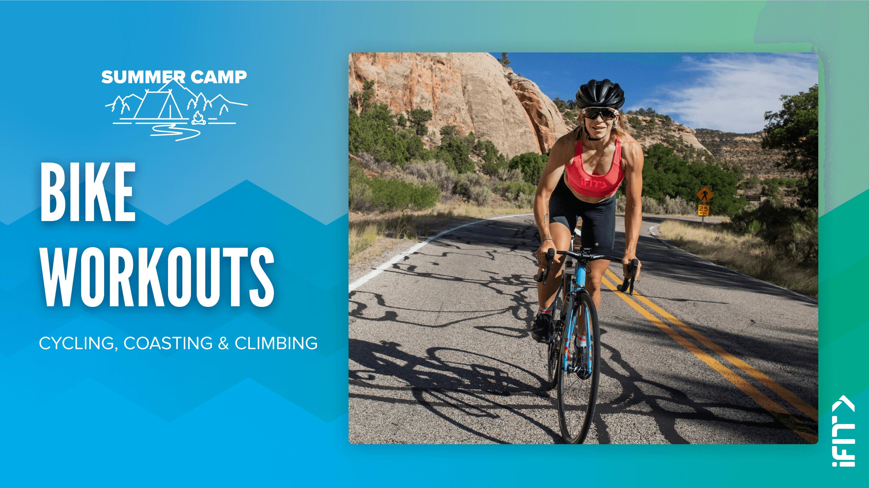 iFIT July Challenge Mountain Explorer bike workouts