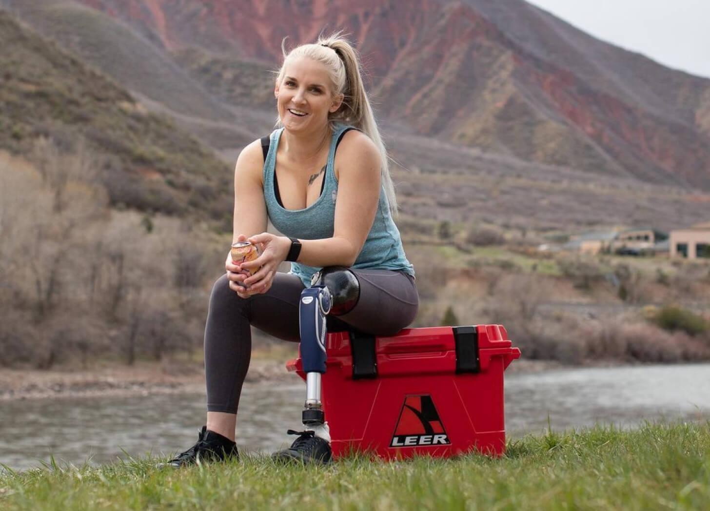iFIT Trainer Kirstie Ennis running workout
