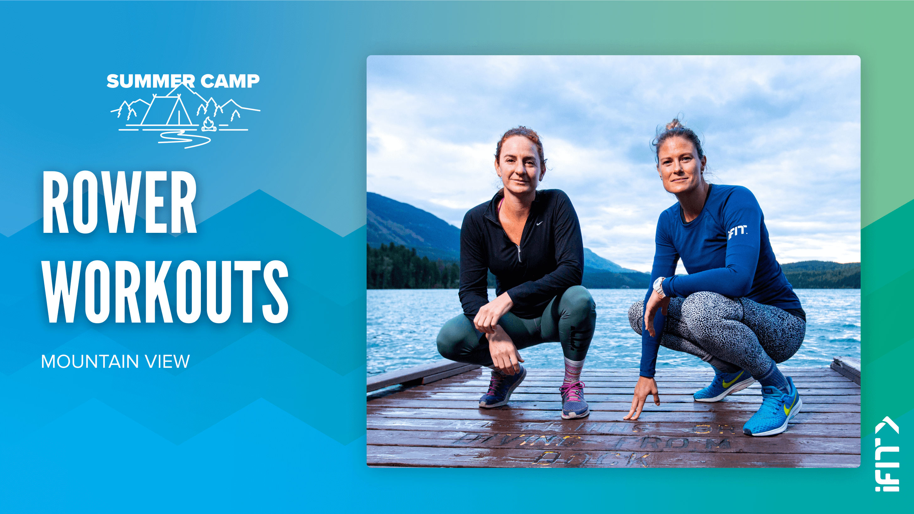 iFIT July Challenge Mountain Explorer rower workouts