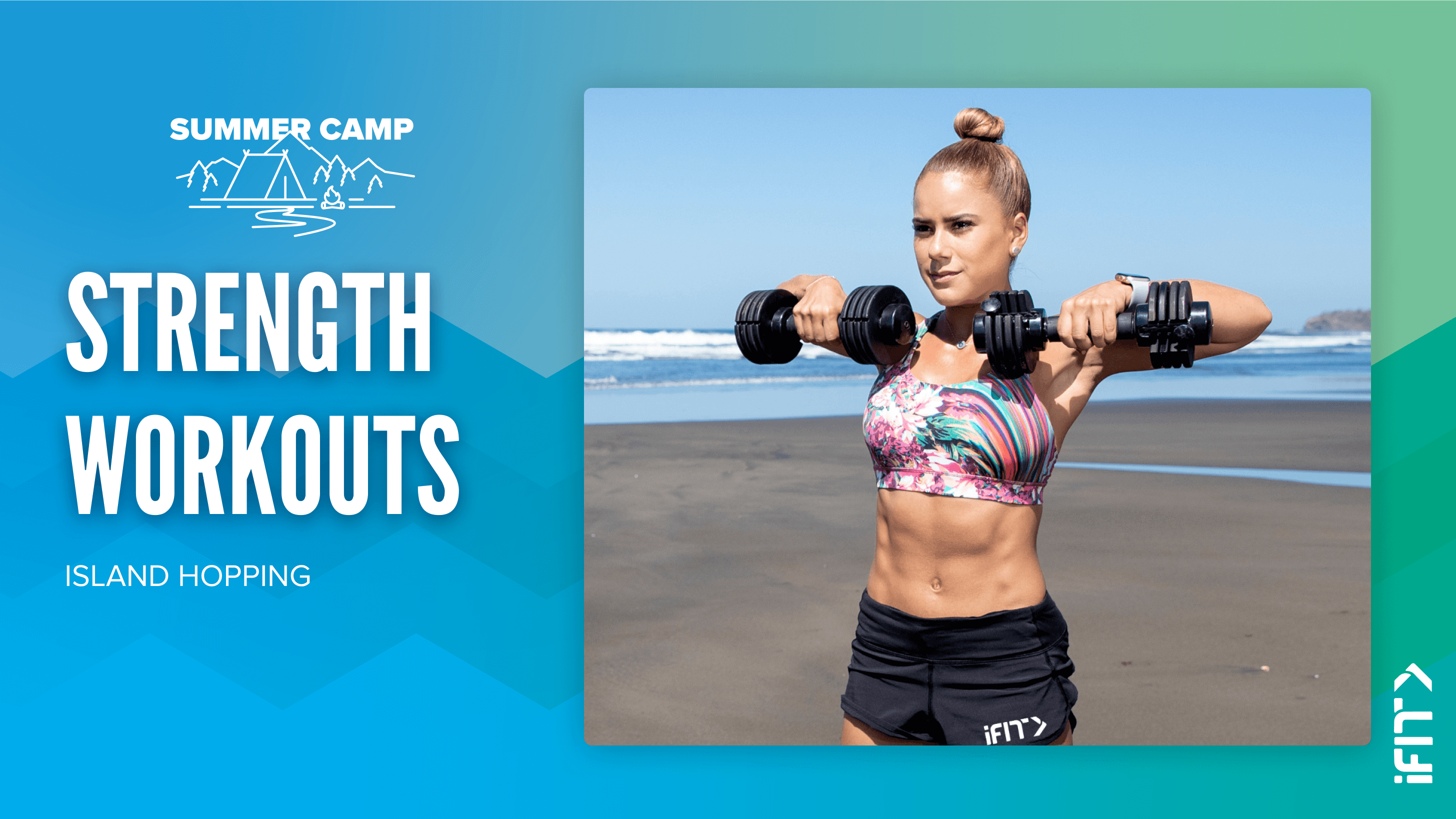 iFIT July Challenge Field Trip strength workouts