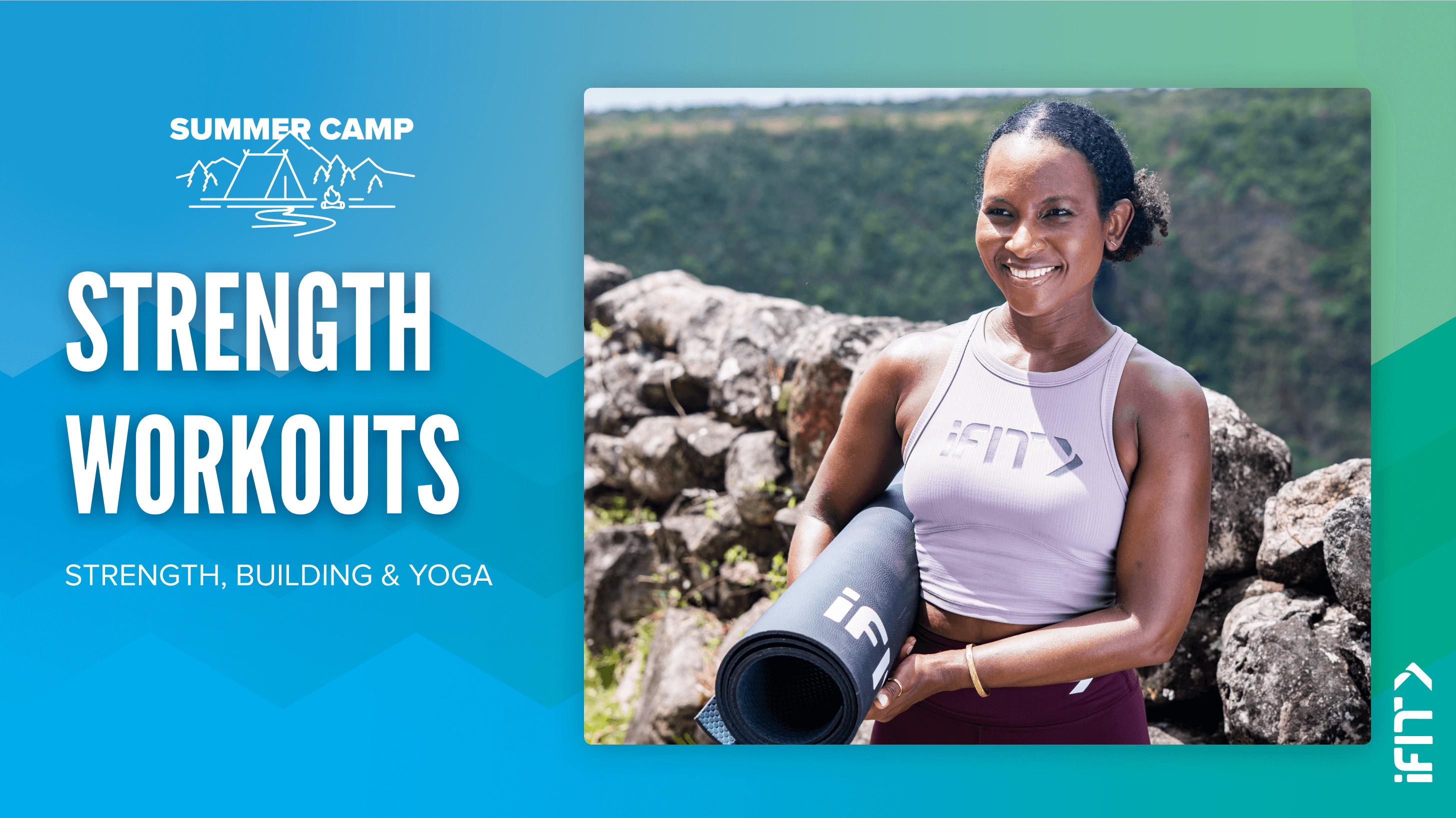 iFIT July Challenge Mountain Explorer strength workouts