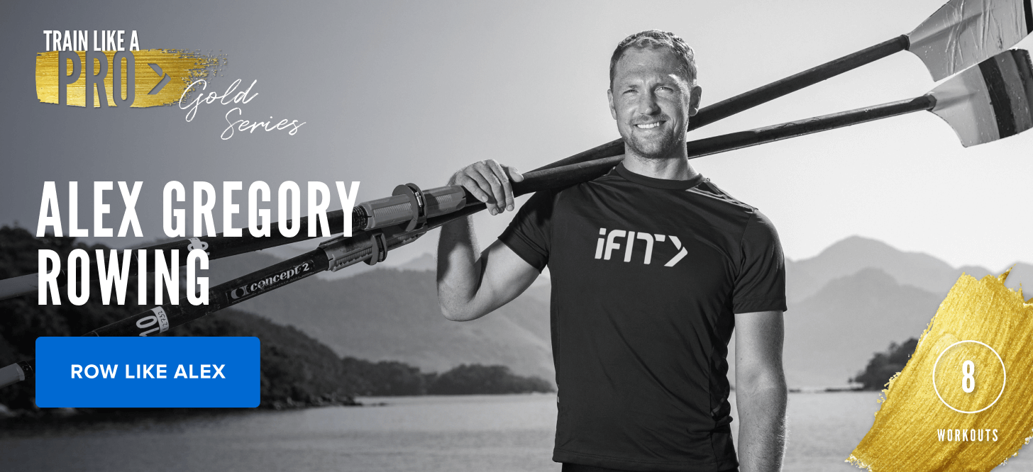 iFIT Train Like a Pro: Gold Series – Alex Gregory Rowing