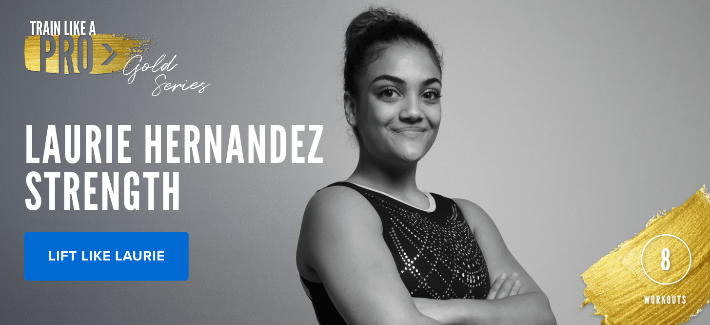 iFIT Train Like a Pro: Gold Series – Laurie Hernandez Strength