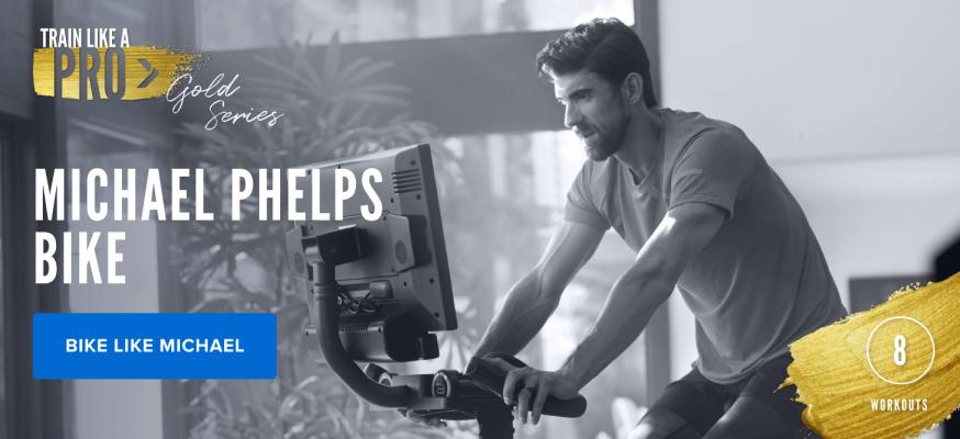 iFIT Train Like a Pro: Gold Series Michael Phelps Bike