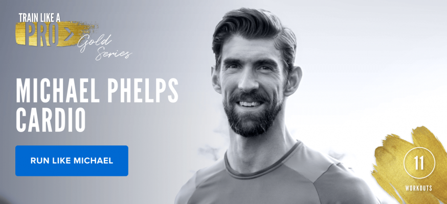iFIT Train Like a Pro: Gold Series Michael Phelps Cardio