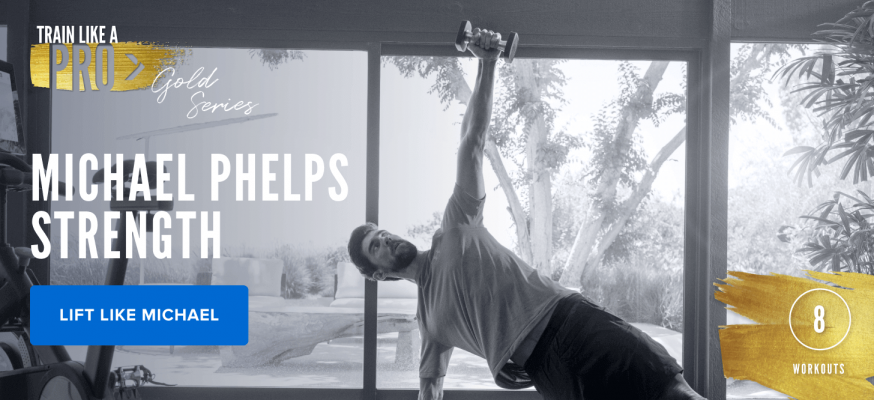 iFIT Train Like a Pro: Gold Series Michael Phelps Strength