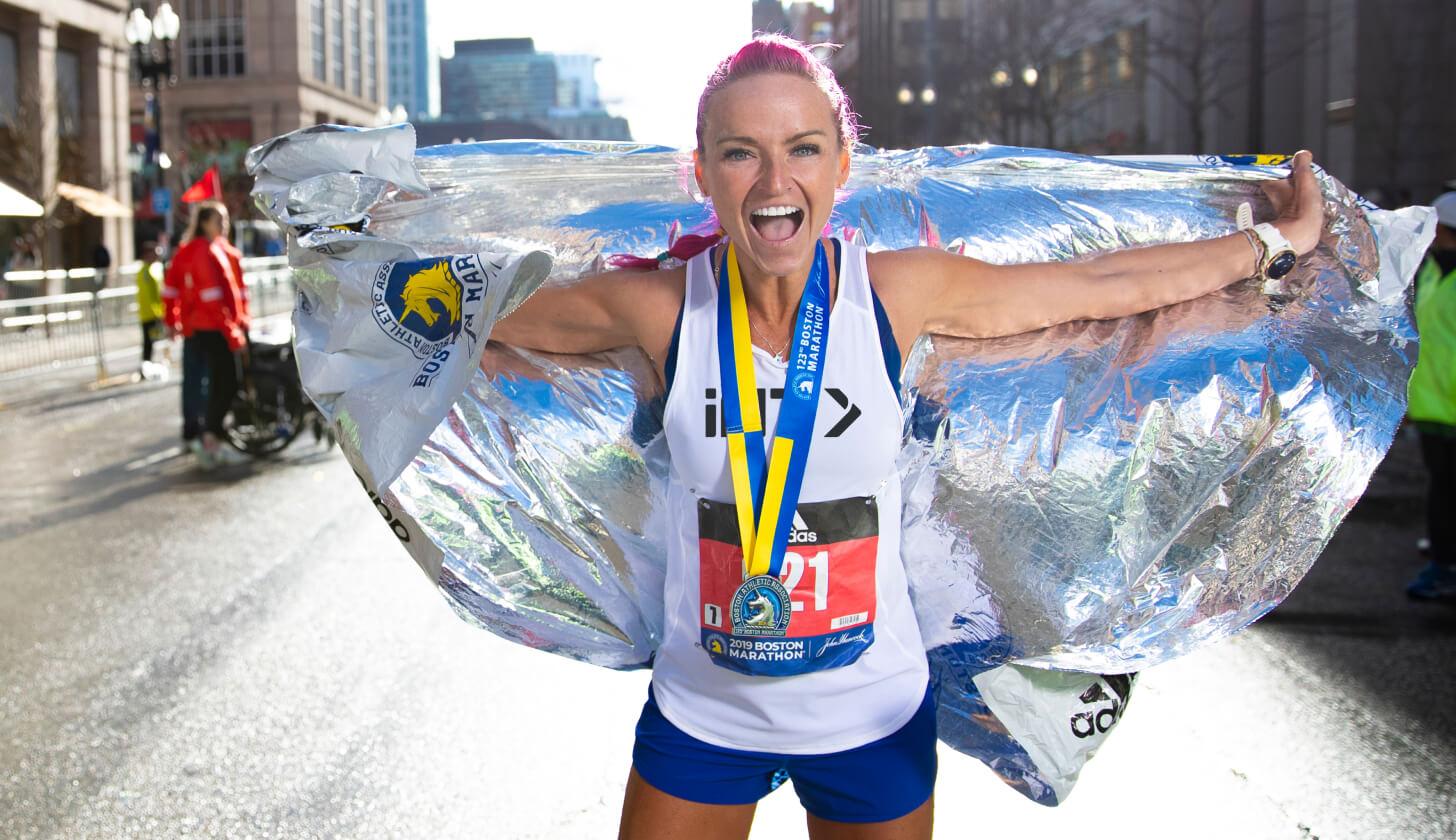 iFIT Boston Marathon Race running workouts