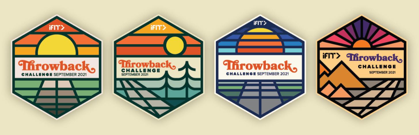 iFIT September Throwback Challenge magnets