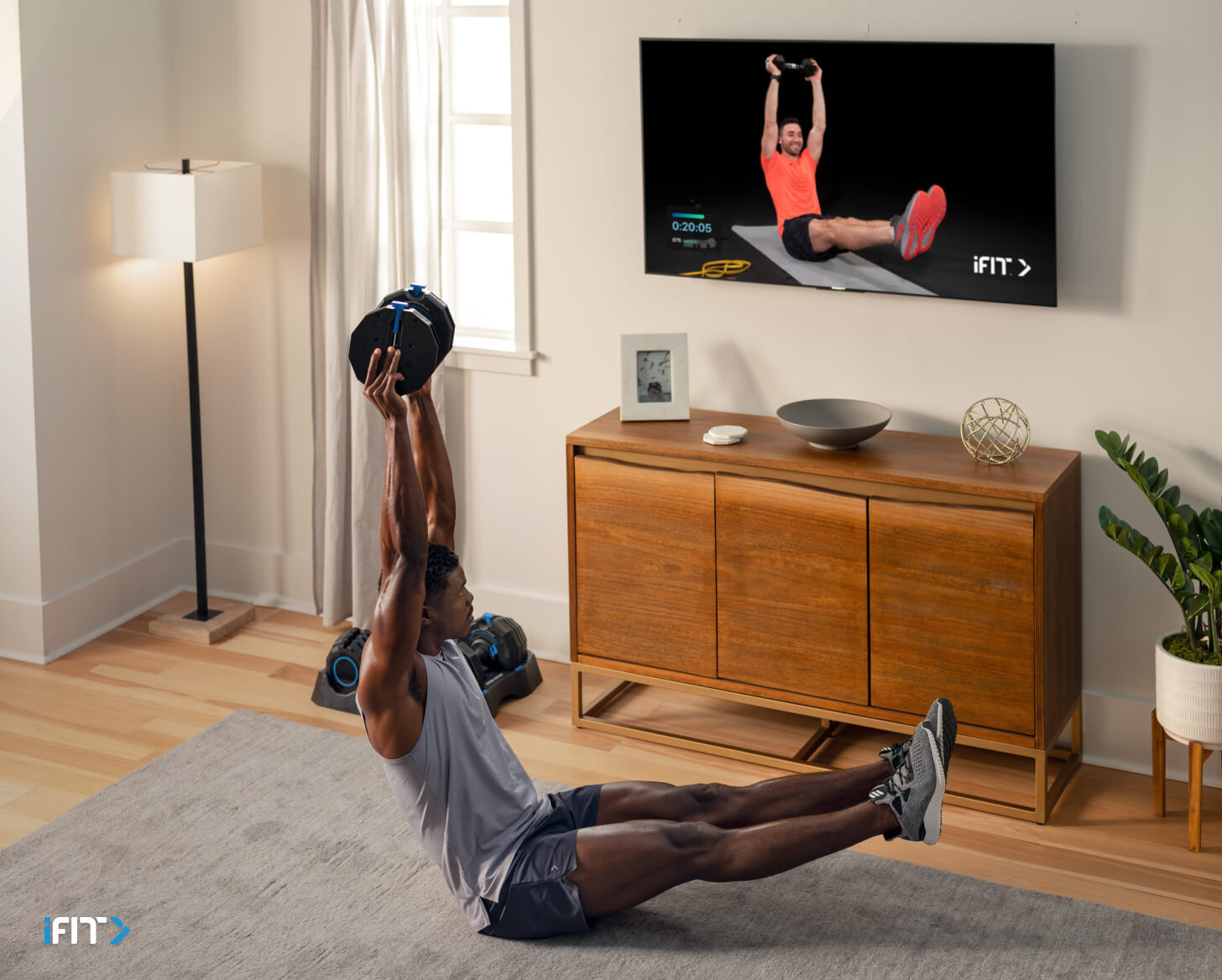 iFIT ab workout