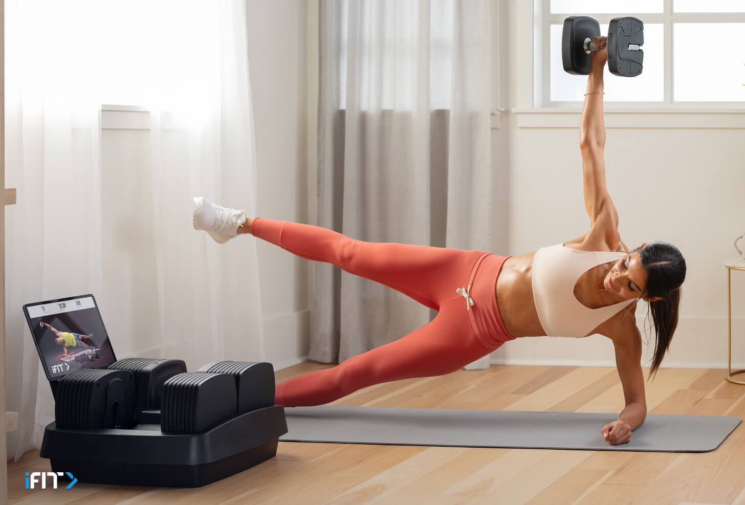 iFIT abs workouts